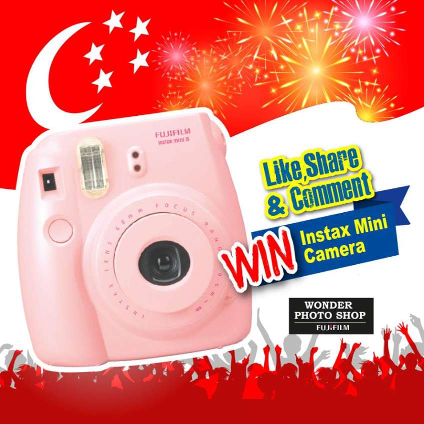 #Win an #Instax Mini Camera at #HarveyNormanSG