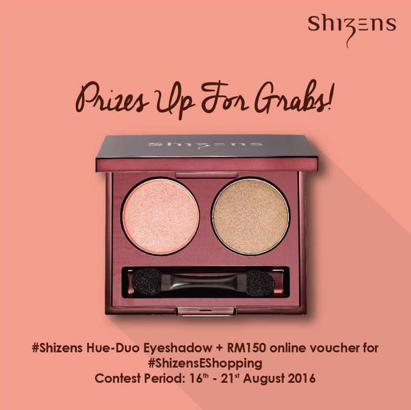 #Win this beautiful #Shizens Hue-Duo Eye Shadow and RM150 online voucher for #ShizensEShopping!