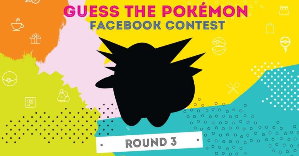Guess the Pokemon contest Round 3 at Anchorpoint, Singapore