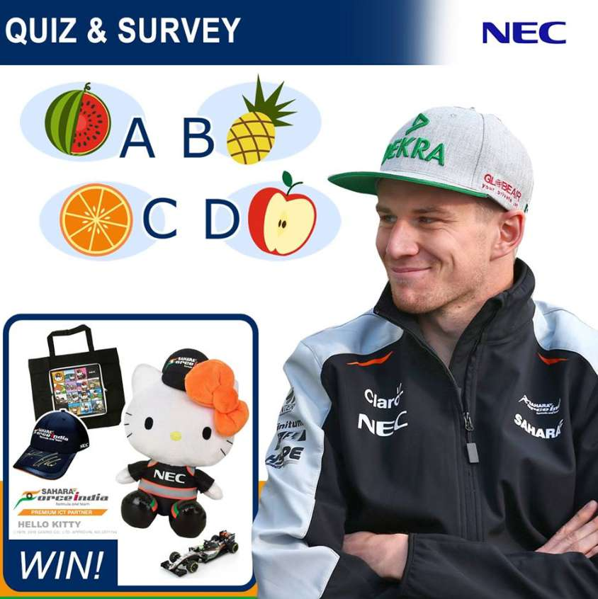 win-a-great-sahara-force-india-sfi-and-nec-prize-in-our-quiz-and-questionnaire