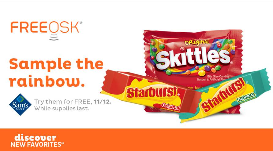 free-sample-skittles-and-starburst-at-sams-club-this-week