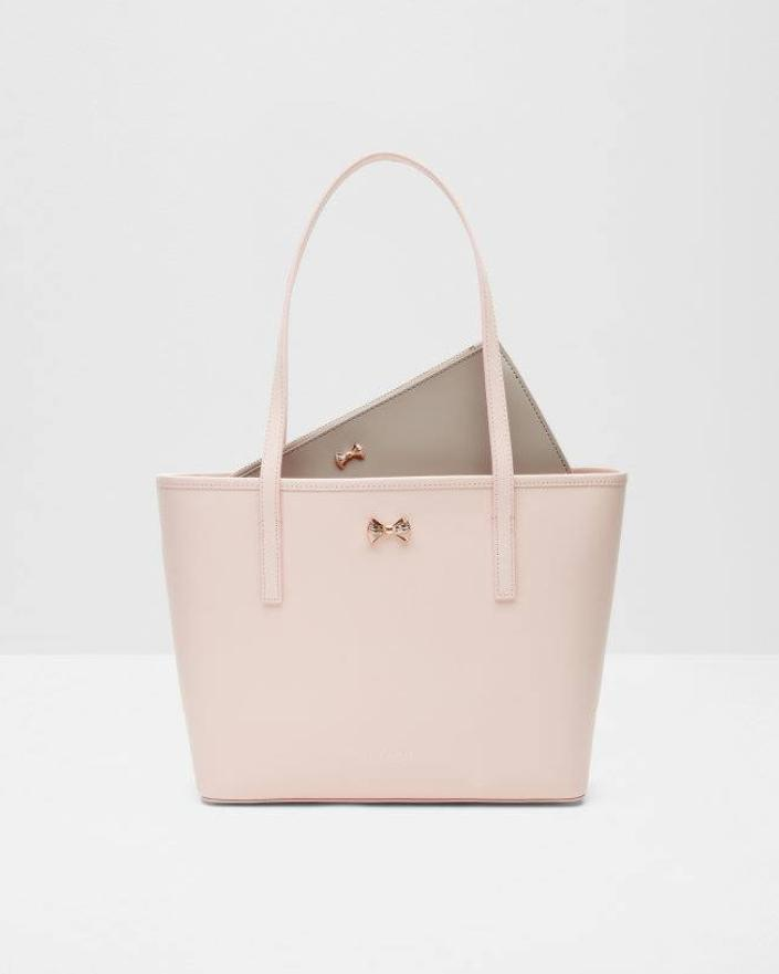 win-ted-baker-anaiya-micro-bow-small-shopper-bag-in-pink-worth-335