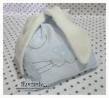 Sacco nascita e asilo coniglio per bambino