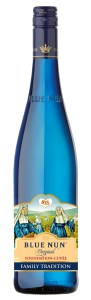 Image showing limited edition bottle of Blue Nun