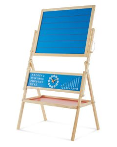 Wooden Toys. Image showing Double Sided Easel.