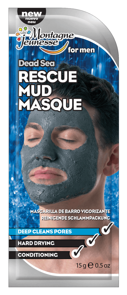 Face Masks for Men - Rescue Mud Mask