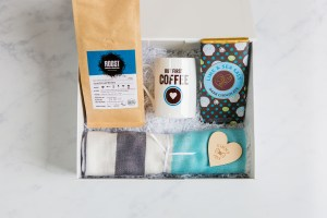 Ginny and Joy Luxury Gift Boxes - But First Coffee
