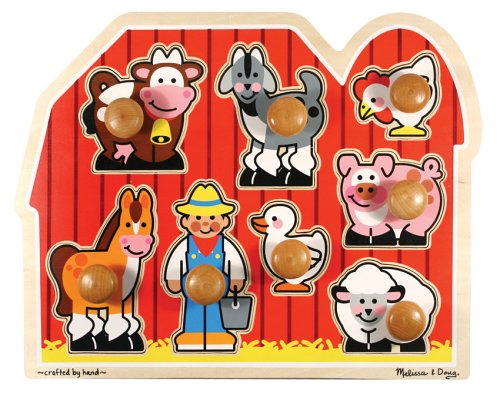 Mellisa and Doug Farm Puzzle for Toddlers