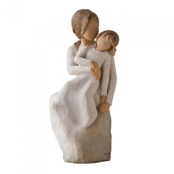 """WILLOW TREE MOTHER DAUGHTER - 6"""" 27270"""
