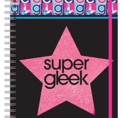 Glee A4 Notebook - super gleek