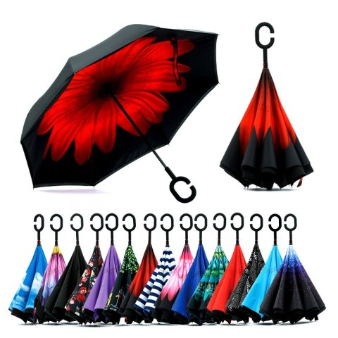 Self-Standing Umbrella with Anti-UV, Waterproof & Windproof