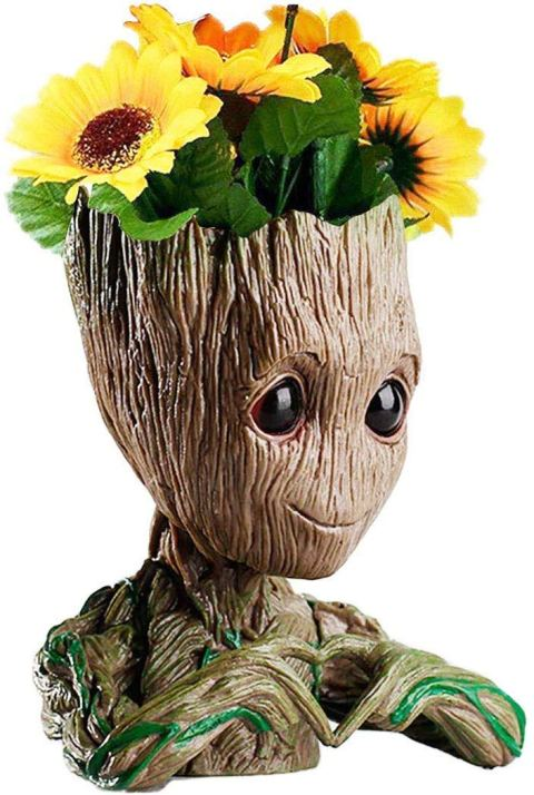 Groot flower pot Pen Holder