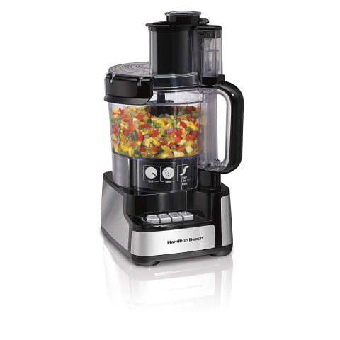 Hamilton Beach Stack & Snap 12 Cup Food Processor