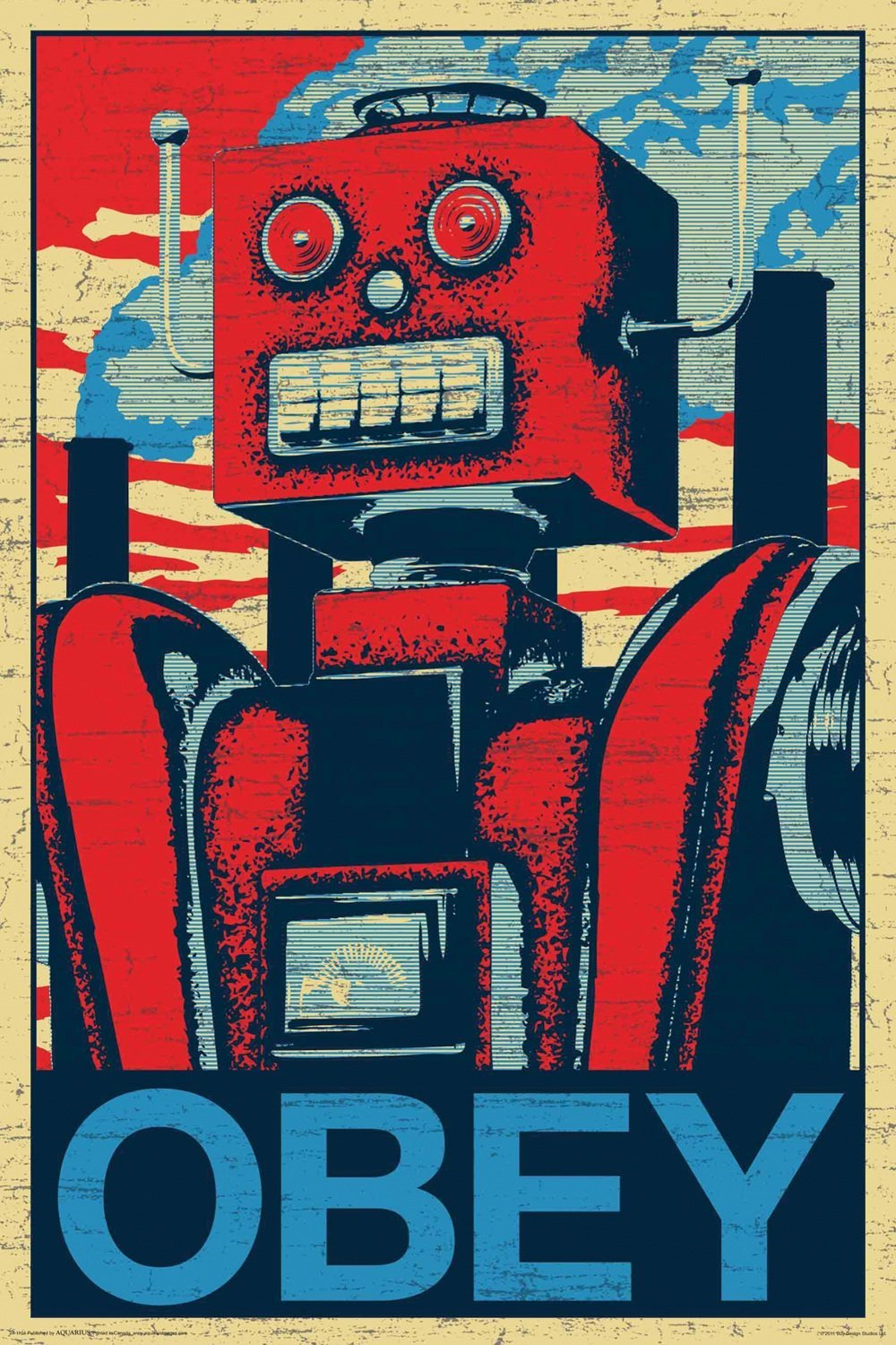 Robot Poster Gift Search