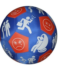 Play and Learn Emotions Fabric Ball sold by Gifts for little hands