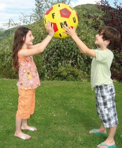 Hands-On Play and Learn Time Fabric Ball - 1
