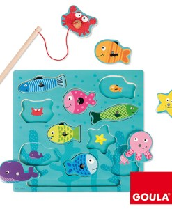 Goula Fishing Magnetic Puzzle sold by Gifts for little hands