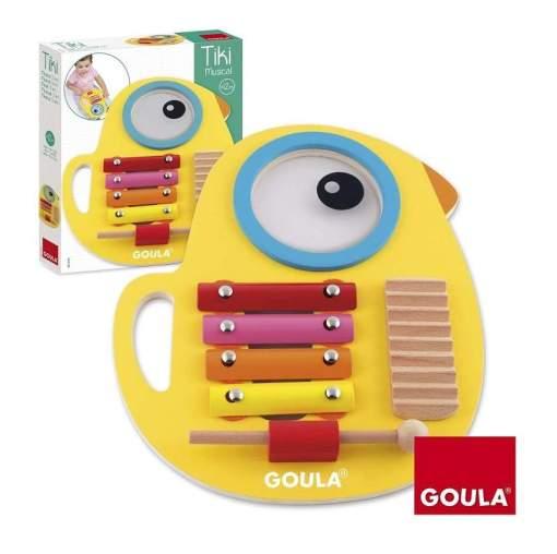 Goula Carla's 3 in 1Tiki Musical