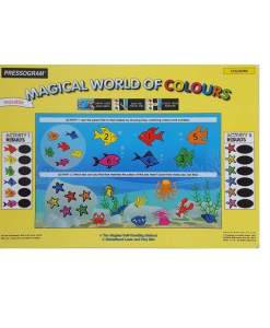 Interactive Double sided reusable Mats - Colours - 1