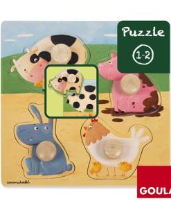 Goula Farm Animals Puzzle -2