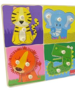 Goula Jungle Animals Puzzle sold by Gifts for Little Hands