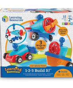 1-2-3- car plane boat learning resources by gifts for little hands