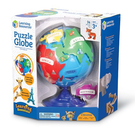 Puzzle Globe sold by Gifts for Little Hands