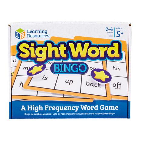 Sight Word Bingo -2
