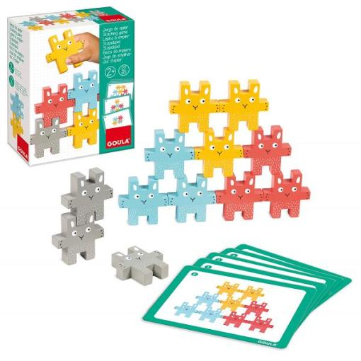Goula Rabbit Stacking Game sold by Gifts for Little Hands