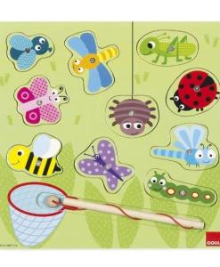 Goula Magnetic Wooden Bugs Puzzle -2