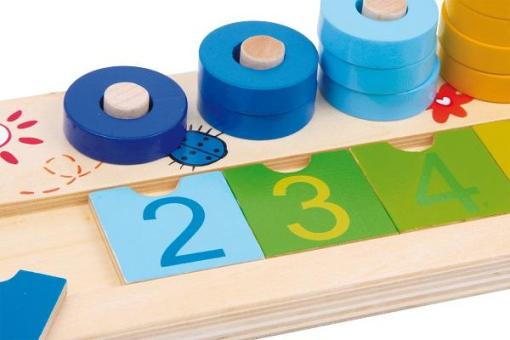 Calculation Table Wooden Rings - 2