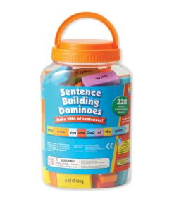 Sentence Building Dominoes sold by Gifts for Little Hands