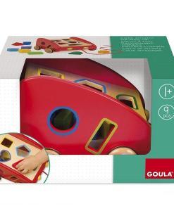 Goula Sorting Pull-along Car