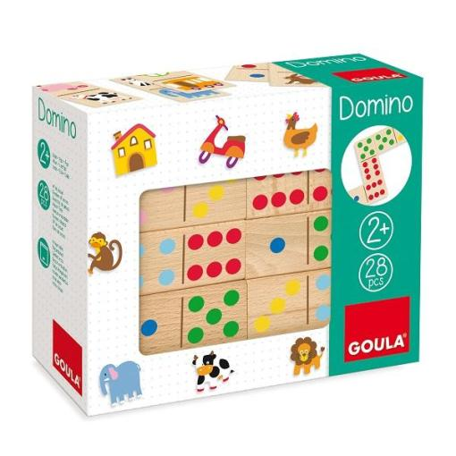 Goula Topycolor Domino sold by Gifts for Little Hands