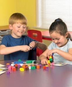Mathlink cubes activity set blog from gifts for little hands an educational toys website