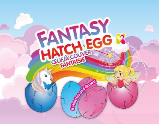Fantasy Elf Hatching Egg