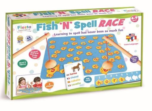 Fish N Spell Race -2