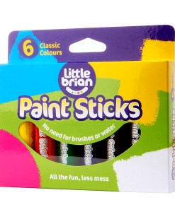 Paint Sticks Classic Colours - 6 assorted sold by Gifts for Little Hands