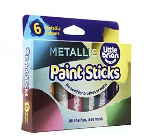 Paint Sticks Metallic Colours - 6 assorted sold by Gifts for Little Hands