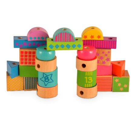 Sort, Lace and Build Blocks sold by Gifts for Little Hands