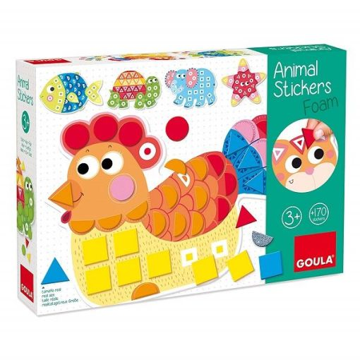 Goula Foam Animal Stickers sold by Gifts for Little Hands