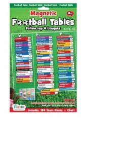 Magnetic Football Tables Top 4 Leagues sold by Gifts for Little Hands