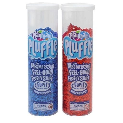 Playfoam Pluffle Red & Blue 2-Pack