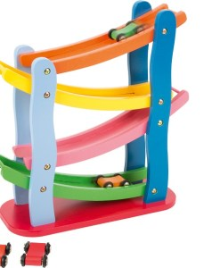 Wooden Colourful Racetrack Toy