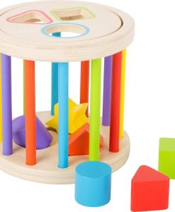 Wooden Colours and Shapes Motor Skills Sorter