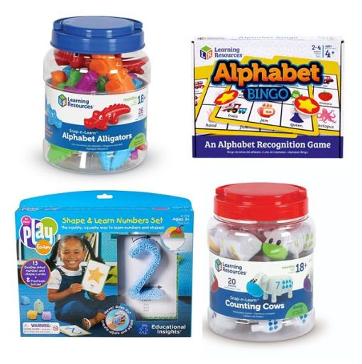 Nursery Toy Collection Perfect for Age 2-4 Years Offer