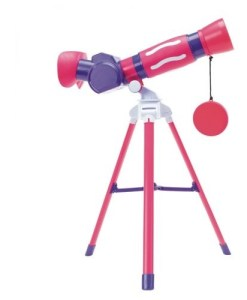 GeoSafari® Jr. My First Pink Telescope