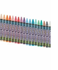 Paint Sticks Chalk - 20 Assorted