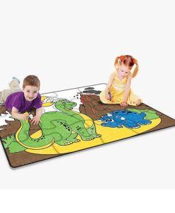 Little Brian Paint-A-Puzzle Dinosaur World Floor Puzzle