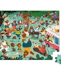 Janod Family Bears 54 Piece Puzzle